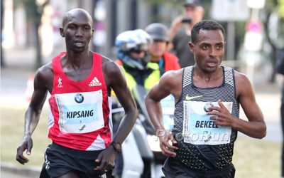 Kenenisa Bekele v Wilson Kipsang Pt 2 (Wilson Kipsang Training)