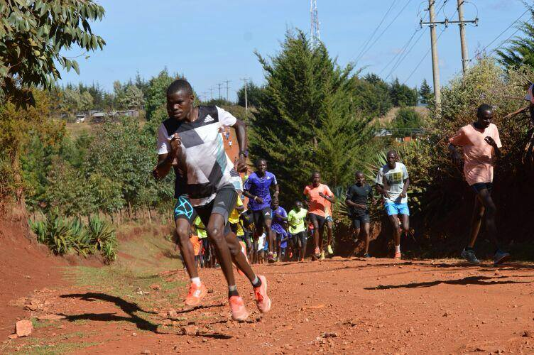 Photo Diary Week 2: Training in Iten Kenya