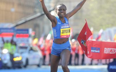 Joyciline Jepkosgei's half marathon world record: A discussion of the progress in female distance running