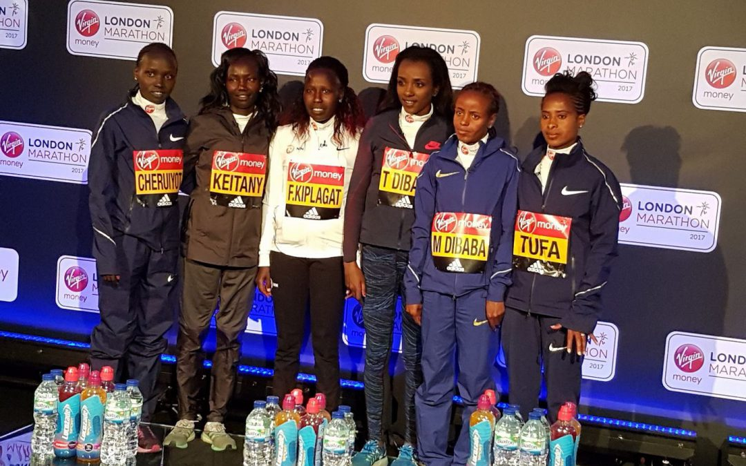 London Marathon 2017 Elite Women's Preview