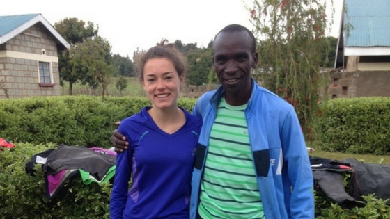 Eliud Kipchoge: The Day I Met my Hero