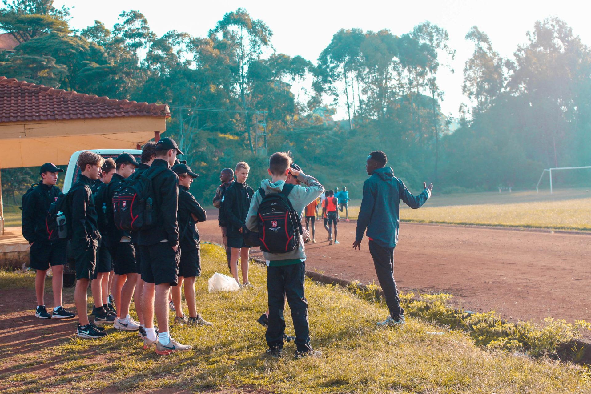 Watching Elite Kenyan Runners at Tambach Track