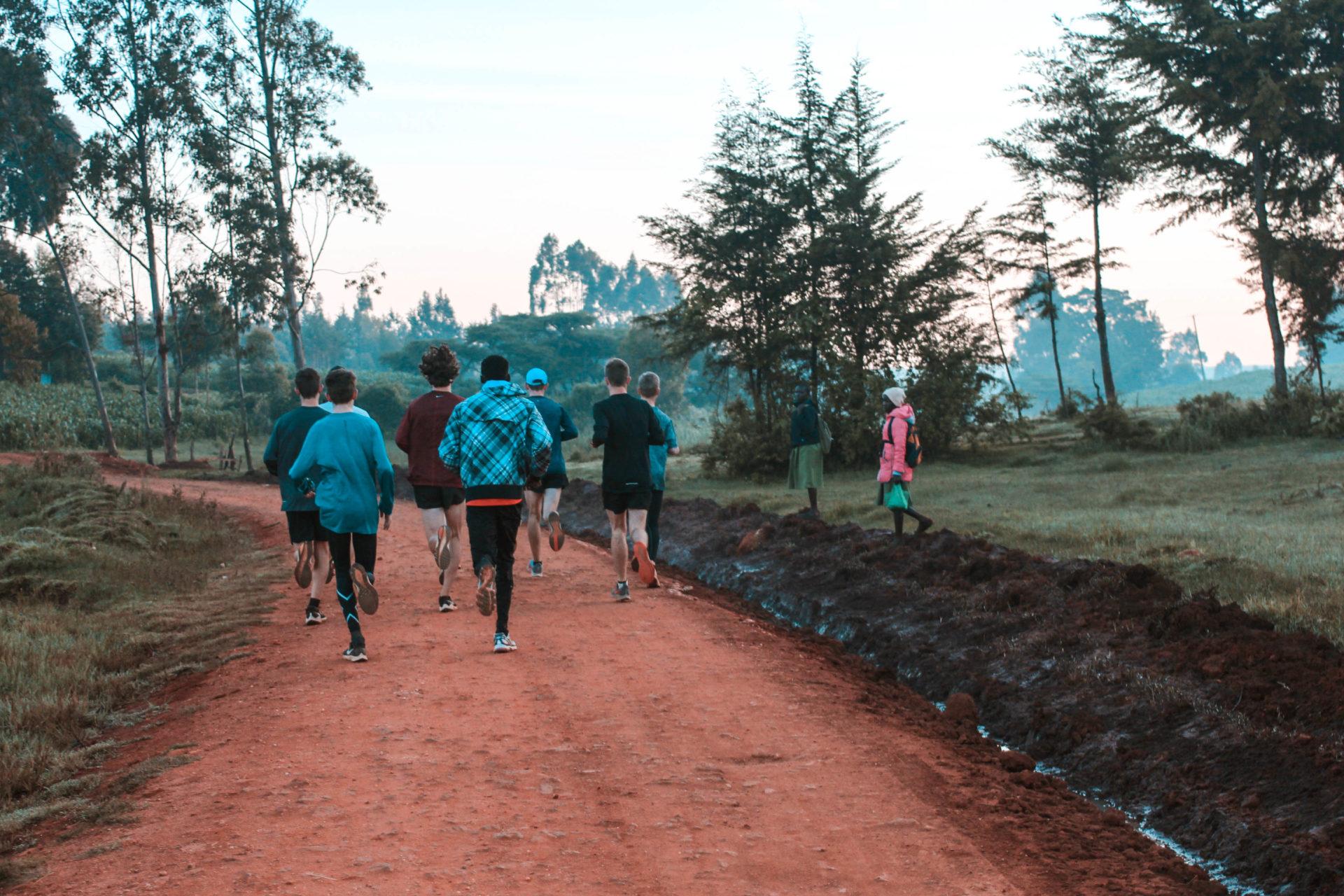 School running camp in Iten Kenya