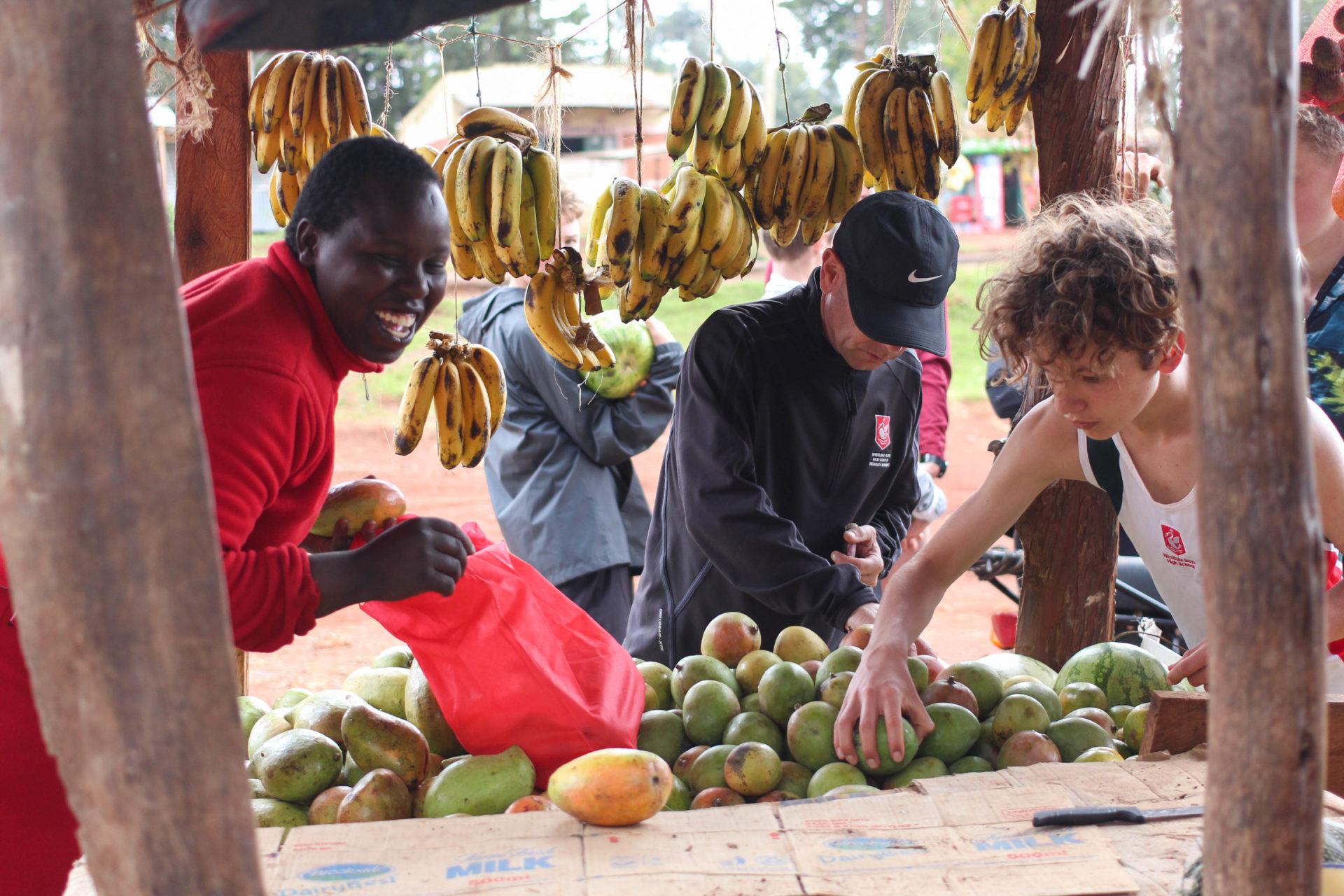 Kenyan Running Diet Healthy Fresh Fruit