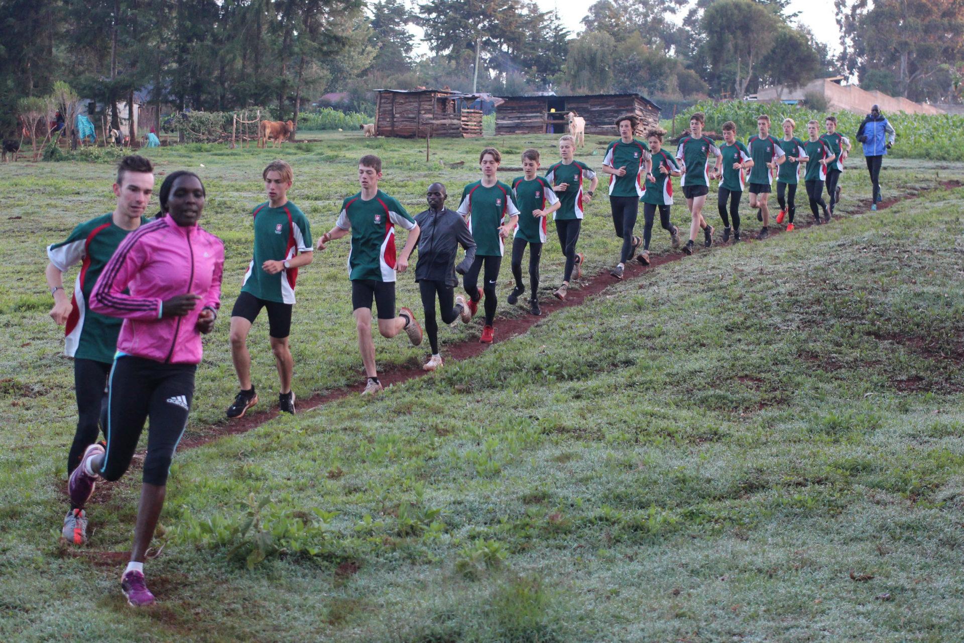 Running the Kenyan Way